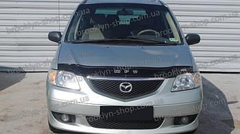 Дефлектор капота Mazda MPV с 1999–2002 г.в. (Мазда мпв) Vip Tuning