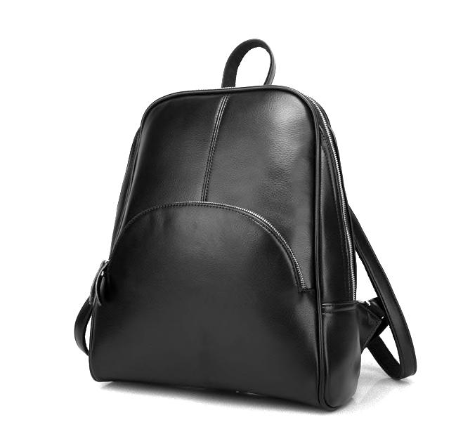 Рюкзак женский кожаный Hilary Черный