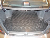 Коврик в багажник Suzuki SX4 SD (08-) (Сузуки СХ4), Lada Locker
