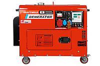 Дизельний генератор Kraftwele SDG9800 3F, КОД: 140076