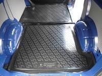 Коврик в багажник Volkswagen Transporter T5 (02-) зад.часть (Фольксваген Транспортер Т5), Lada Locker