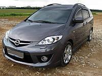 Дефлекторы стекол Mazda 5 I 2005-2010 (Мазда 5) Cobra Tuning