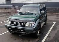 Дефлектор капота TOYOTA Land Cruiser Pradо 90 с 1996–2002 г.в. (Тойота Ленд Крузер Прадо 90) Vip Tuning