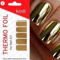 Новинка!!! Термофольга для дизайна ногтей Kodi Professional