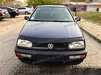 Мухобойка +на капот  VW Golf-3 с 1991-1997 г.в. (Фольксваген Гольф) Vip Tuning