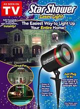 Гірлянди на Новий Рік або Різдво Star Shower Laser Зорепад лазерний промінь