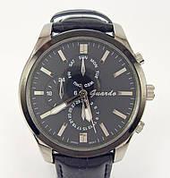 Часы наручные Guardo 003913-A серебристые с черным копия, фото 1