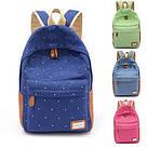 Рюкзак городской, школьный, молодежный в горошек., фото 2