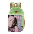 Рюкзак городской, школьный, молодежный в горошек., фото 5