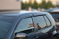 Дефлекторы боковых стекол VW Golf IV 5d 1999-2005 (Фольксваген Гольф 4) Cobra Tuning
