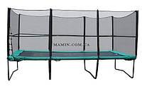 Батут Kidigo с защитной сеткой и лестницей 457х305 BT457-305