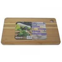 Дошка деревяна бамбук 20*12*1см 7922 Tadar