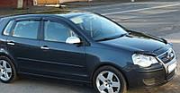 Дефлекторы окон VW Polo IV 5d 2004-2009 (Фольксваген Поло) Cobra Tuning