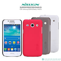 Чехол для Samsung Galaxy Trend 3 G3502 - Nillkin Super Frosted Shield (пленка в комплекте)