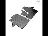 Коврики в салон  Volkswagen T5 (03-) (полиур., компл - 4шт) (NORPLAST)