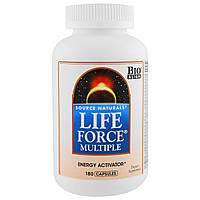 Source Naturals, Мультивитамины Life Force, 180 капсул, фото 1