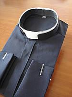 Римо-католическая рубашка черного цвета