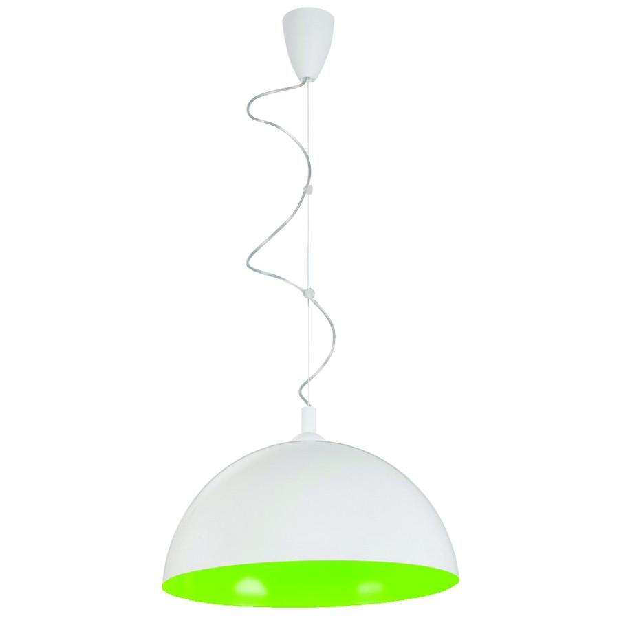 Люстра подвесная Nowodvorski 5714 Hemisphere white-green fluo