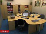 Офисная мебель в Киеве Стол письменный БЮ 108, фото 4