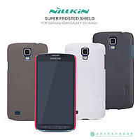 Чехол для Samsung Galaxy S4 Active i9295 - Nillkin Super Frosted Shield (Пленка в комплекте)