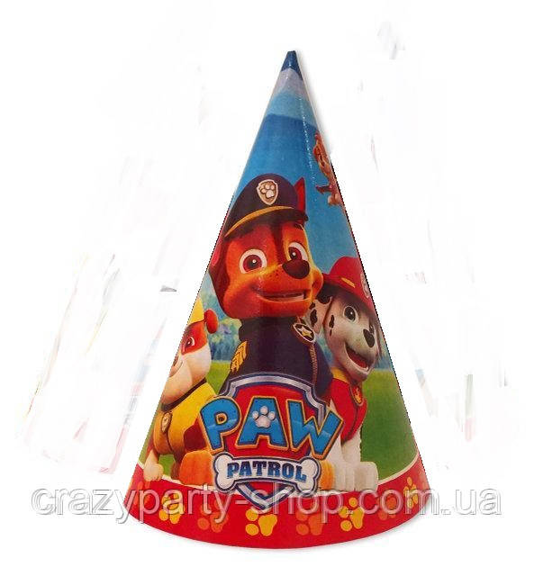 Колпачок праздничный  Щенячий патруль