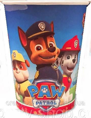 Стаканчик праздничный  Щенячий патруль