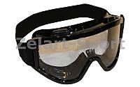 Мотоочки, очки тактические MS-908 (пластик, акрил, прозрачные линзы)