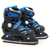 Детские коньки с раздвижным ботинком
