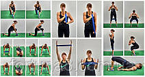 Набор фитнесс резинок   U -Powex 5 шт, фото 3