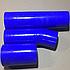 Комплект патрубков радиатора КамАЗ (3 шт.) силикон 5320-1303010, фото 2