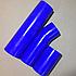 Комплект патрубков радиатора КамАЗ (3 шт.) силикон 5320-1303010, фото 4