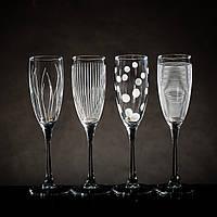 "Набор боклов для шампанского""Лаунж клаб"" 170 мл Luminarc 4шт., фото 1"