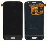 Дисплей + сенсор Samsung J120H J1 2016 Черный LCD TFT, с регулировкой яркости (Большой Экран)
