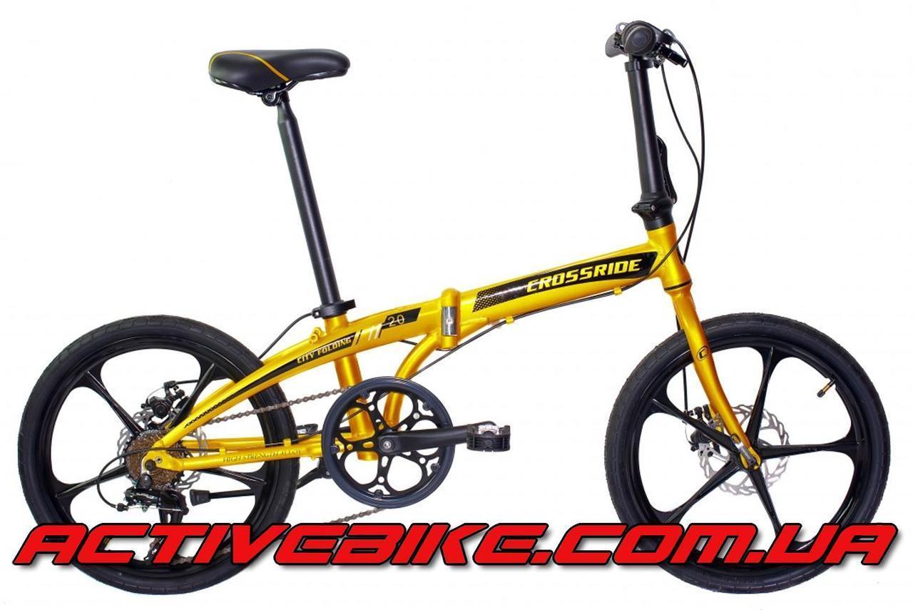 """Велосипед складной CROSSRIDE City Folding AL 20"""""""