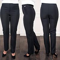 Женские классические черные брюки больших размеров Шарлота, фото 1