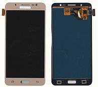 Дисплей + сенсор Samsung J510 Galaxy J5 (2016) Золотий LCD TFT, з регулюванням яскравості