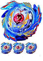 """Вафельная картинка на торт """"Бейблейд / beyblade"""" А4- Бейблейд-2 Синий, На листе А4 одна большая картинка и три поменьше, 4"""