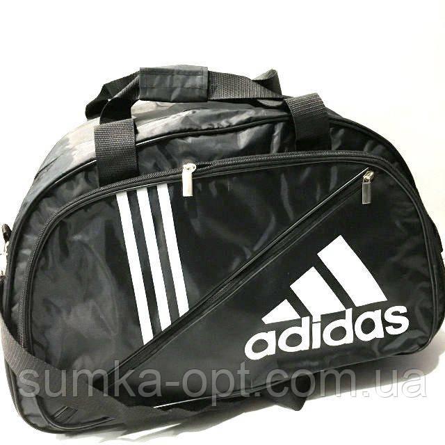 Дорожні спортивні сумки Adidas з плащової тканини (чорний)31*50см