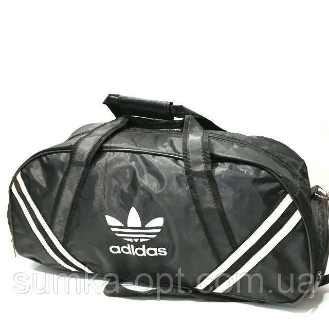 Дорожні спортивні сумки Adidas з плащової тканини (чорний)23*49см