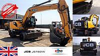 ТЕХНИКА НА СКЛАДЕ!!!  Колесный экскаватор JCB JS160W 2011 года с наработкой 9288 м.ч на складе в Черновцах