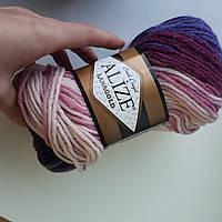 Пряжа нитки для вязания Lanagold Batik полушерсть