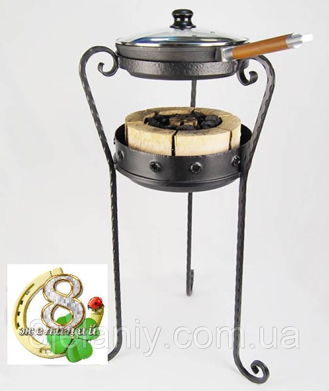 Комплект Жаровой сковорода с ручкой