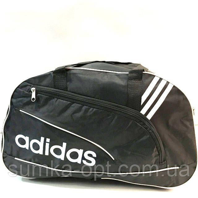 Дорожні спортивні сумки Adidas з плащової тканини (чорний)26*48см