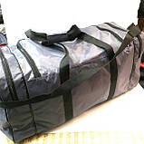 Дорожные спортивные сумки Nike из плащевки (серый)33*70см, фото 3