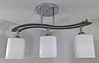 Люстра потолочная на 3 лампочки YR-6032/3-ch