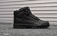 Кроссовки мужские зимние Nike Nevist Triple BLack. ТОП КАЧЕСТВО!!! Реплика класса люкс (ААА+), фото 1