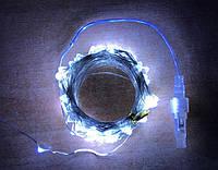 """Светодиодная гирлянда внешняя  """"MONTANA String""""  100LED 10м белый на прозрачном IP68 Код.59377"""