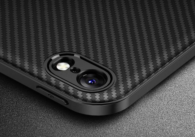 Защитный чехол iphone 6 plus Carbon