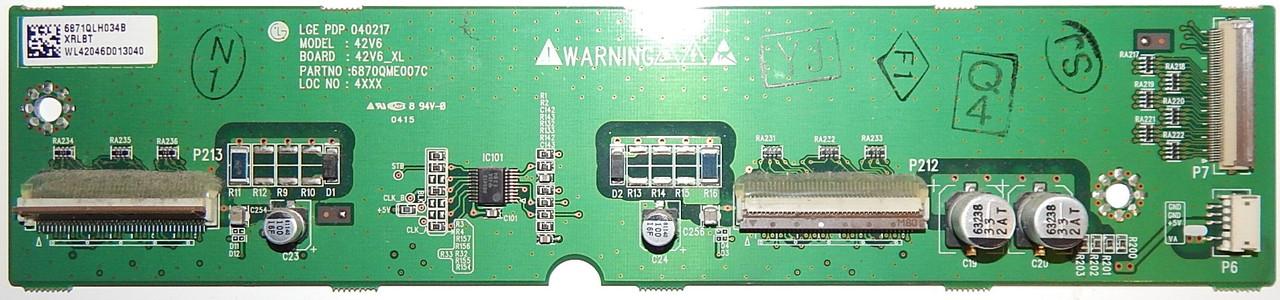 X-SUS BUFFER 6870QME007C к телевизору LG PDP42V6000