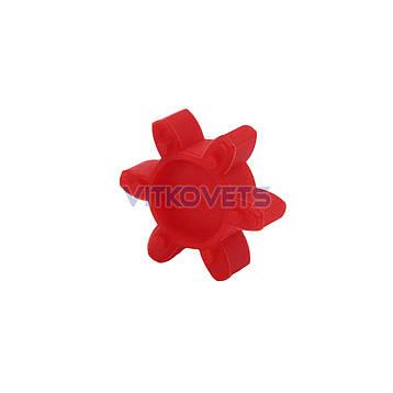 Эластическая 6-ти зубчатая звездочка GS19 для кулачковой муфты, фото 2